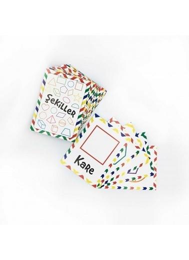 Artikel Şekiller Eşleştirme Hafıza Kart Oyunu Renkli
